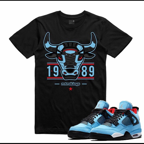 d3293c2441e3 Air Jordan 4 IV Cactus Jack T Shirt Travis Scott